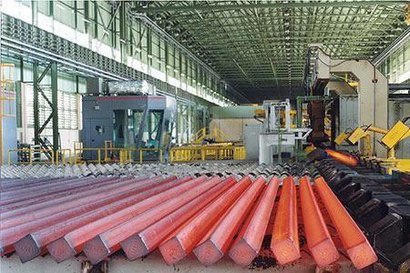 Sản xuất thép thô của Iran được đẩy mạnh